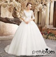 Bridal Gowns with Sleeves Dress
